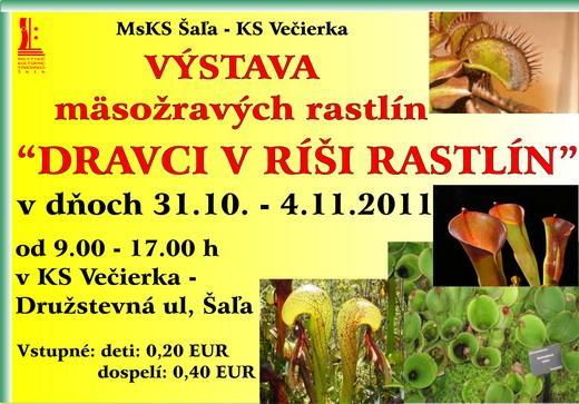 Výstava mäsožravých rastlín